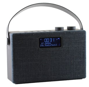 Scansonic PA7001 DAB+ radio med bluetooth - SORT