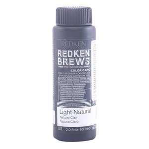 Semi-permanent Farve Brews Redken 1NA - dark ash 60 ml