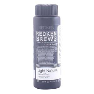 Semi-permanent Farve Brews Redken 7NA - ceniza claro 60 ml