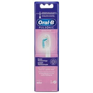Sensitive 80334588 børstehoved til elektrisk tandbørste 2 stk Hvid