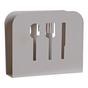 Servietholder DKD Home Decor Beige Metal