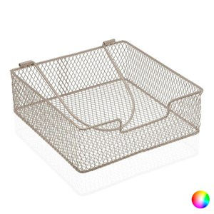 Servietholder Metal/Flet (20,5 x 7 x 20,5 cm) Beige