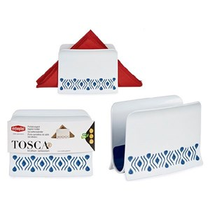 Servietholder Tosca Blå Plastik