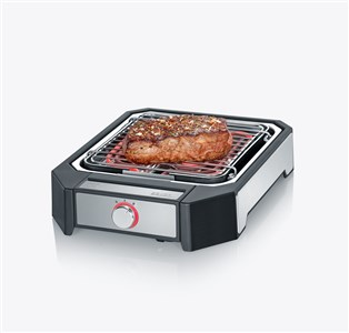 Image of   Steakgrill 2300 watt Sort/sølv