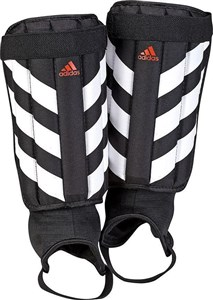 Shin guards Adidas Evertomic Black White