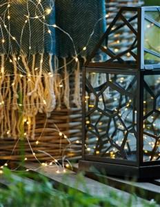 Image of   38255 dekorativ belysning Dekorativ lysfigur Sort 40 Lampe( r) LED