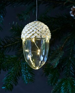Image of   56585 dekorativ belysning Dekorativ lysfigur Transparent 5 Lampe( r) LED