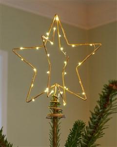 Image of   51645 dekorativ belysning Dekorativ lysfigur Transparent 30 Lampe( r) LED