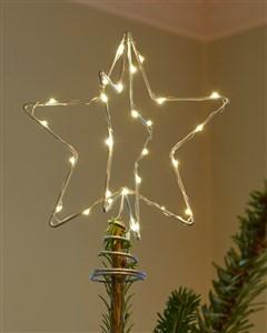 Image of   51640 dekorativ belysning Dekorativ lysfigur Transparent 30 Lampe( r) LED