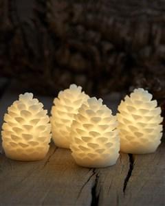 Image of   13103 dekorativ belysning Dekorativ lysfigur Hvid LED