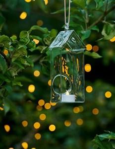 Image of   38015 dekorativ belysning Dekorativ lysfigur Transparent, Hvid 1 Lampe( r) LED