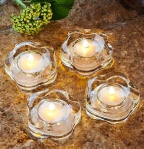 Image of   38999 dekorativ belysning Dekorativ lysfigur Transparent 1 Lampe( r) LED