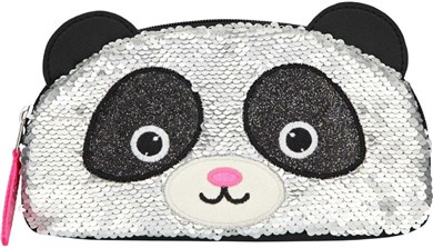 Depesche Snukis - Pencil Case w/Sequins - Panda (0410927)