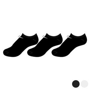 Sokker Nike 3PPK No Show Mænd (3 Par) Sort S