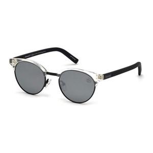Solbriller til kvinder Timberland TB9147-4926D Gennemsigtig (49 Mm)