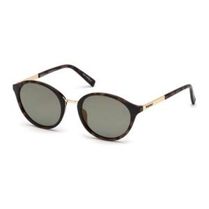 Solbriller til kvinder Timberland TB9157-5256R Brun (52 Mm)