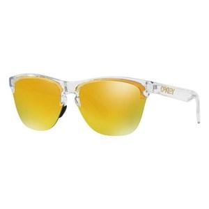 Solbrillertil mænd Oakley OO9374-1363 Gennemsigtig (ø 63 mm)