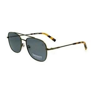 Solbrillertil mænd Timberland TB9122-5597D Grøn (55 Mm)