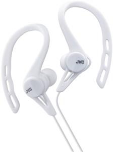 JVC Sport in-ear høretelefoner til løb. Hvid