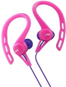 JVC Sport in-ear høretelefoner til løb. Pink