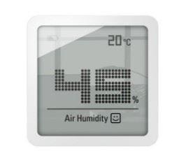 Image of   Selina little Lomme Elektronisk hygrometer Hvid