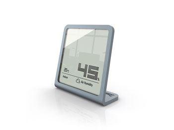 Image of   Selina Indendørs Elektronisk hygrometer Sølv