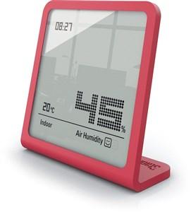 Image of   Selina Indendørs Elektronisk hygrometer Rød