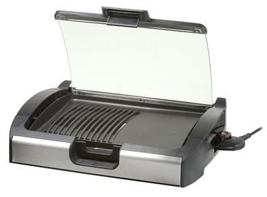Image of   VG 200 2200 W Grill Elektrisk Bordplade Sort, Sølv