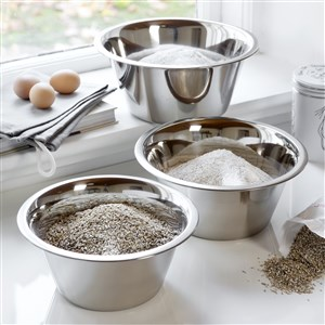 Steel-Function Baking Bowl Set