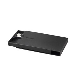 Image of   Companion pillebox - black