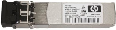 Image of   StorageWorks 4GB Short wave single pack SFP transceiver