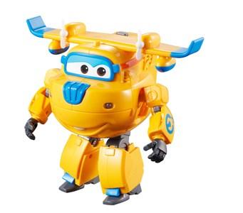 Image of Super Wings Transform 'n Talk Donnie legetøjsbil