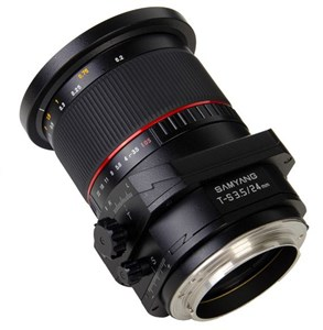 T-S 24mm 1:3.5 ED AS UMC SLR Vippe-skiftelinse Sort