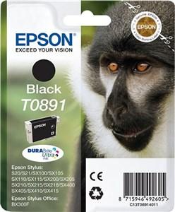 T0891 Black Ink Cartridge 5,8 ml