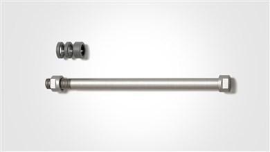 T1710 tilbehør til cykeltræner Rustfrit stål