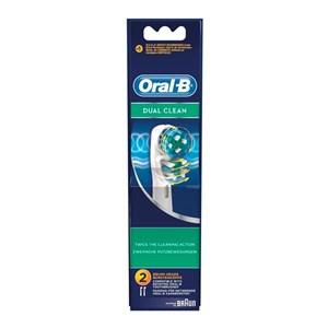 Tandbørstehoved Dual Clean Oral-B (2 uds)