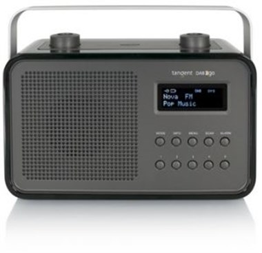 tangent dab 2go bt portable black hg radio. Black Bedroom Furniture Sets. Home Design Ideas