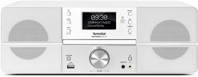 Image of   0001/4990 bærbar stereosystem Digital 10 W Hvid