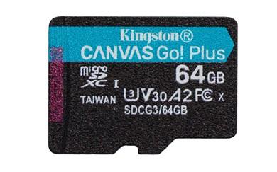 Technology Canvas Go! Plus memory card 64 GB MicroSD Class 10 UHS-I