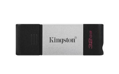 Technology DataTraveler 80 USB flash drive 32 GB USB Type-C 3.2 Gen 1 (3.1 Gen 1) Black,Silver