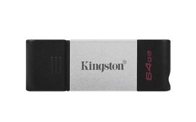 Technology DataTraveler 80 USB flash drive 64 GB USB Type-C 3.2 Gen 1 (3.1 Gen 1) Black,Silver