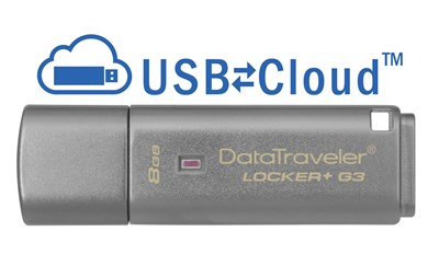 Technology DataTraveler Locker+ G3 8GB USB flash drive USB Type-A 3.2 Gen 1 (3.1 Gen 1) Silver