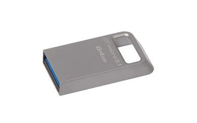 Technology DataTraveler Micro 3.1 64GB USB flash drive USB Type-A 3.2 Gen 1 (3.1 Gen 1) Metallic