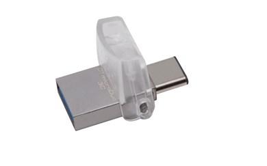 Technology DataTraveler microDuo 3C 32GB USB flash drive USB Type-A / USB Type-C 3.2 Gen 1 (3.1 Gen 1) Silver