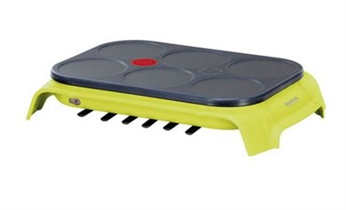Tefal Crep Party Compact Colormania lime grøn