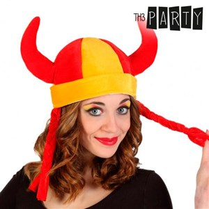 Image of   Th3 Party Spansk Flag Viking Hat