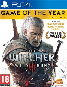 Namco The Witcher 3: Wild Hunt Game of the Year Edition, PS4 videospil PlayStation 4