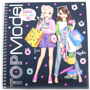 Depesche Top Model - Dress me up Sticker Book (410452)