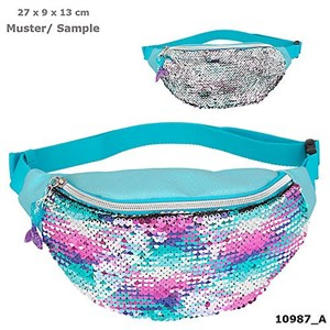 Depesche Top Model - Fantasy Model - Hipbag w/Sequins - Mermaid (0010987)