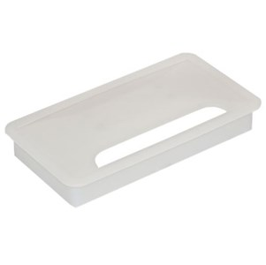 Kondator TopFlip Table hole cap, 80 x 150, white